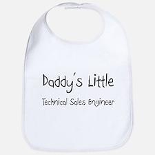 Daddy's Little Technical Sales Engineer Bib