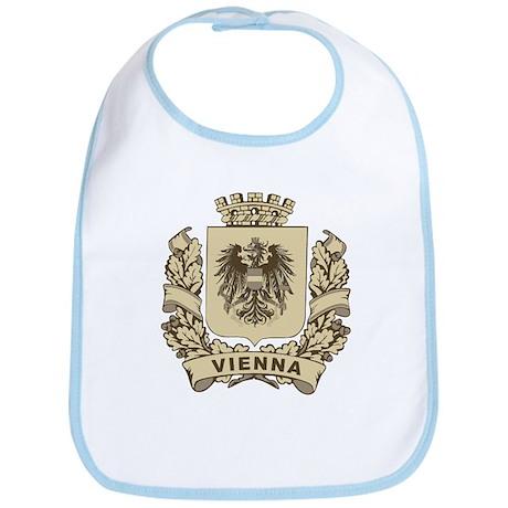 Stylized Vienna Crest Bib