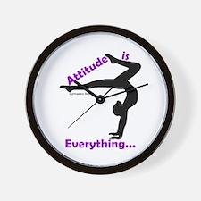 Gymnastics Clock - Attitude