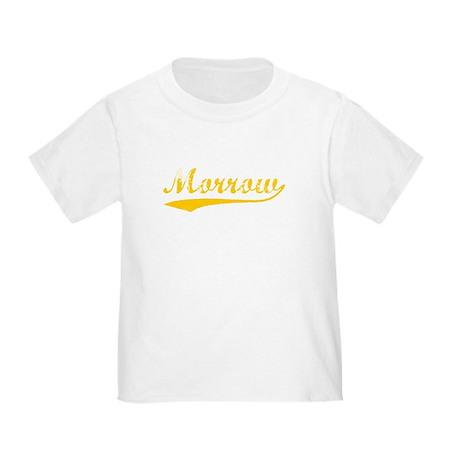 Vintage Morrow (Orange) Toddler T-Shirt
