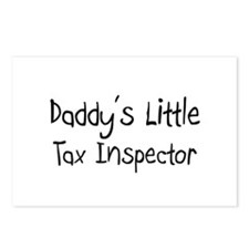 Daddy's Little Tax Inspector Postcards (Package of