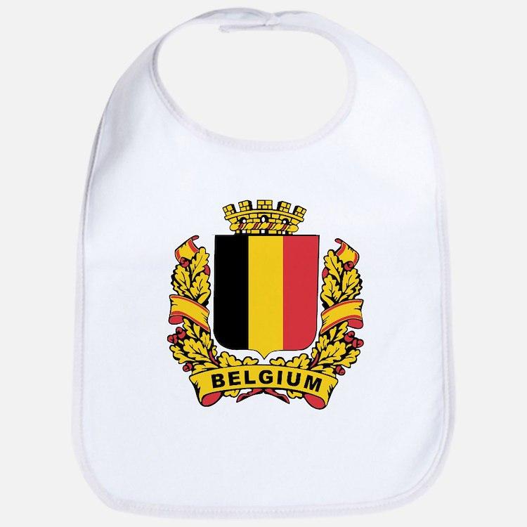 Stylized Belgium Crest Bib