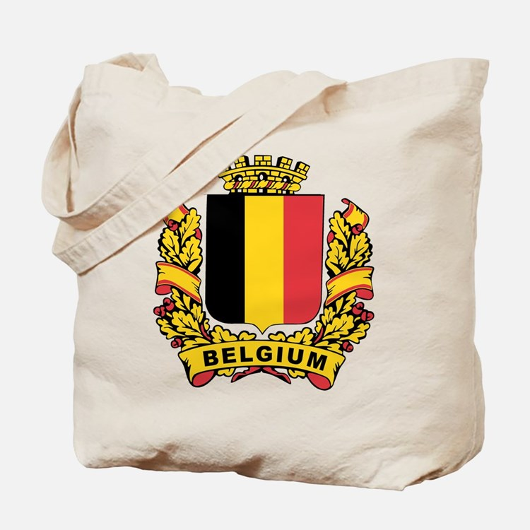 Stylized Belgium Crest Tote Bag