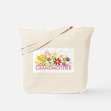 Floral Grandmother Tote Bag