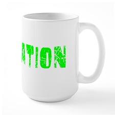 Plantation Faded (Green) Mug