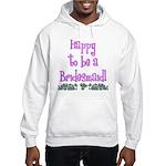 Happy To Be a Bridesmaid Hooded Sweatshirt