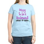 Happy To Be a Bridesmaid Women's Light T-Shirt