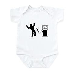High Gas Prices Infant Bodysuit