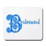 Celtic Blue Bridesmaid Mousepad