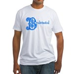 Celtic Blue Bridesmaid Fitted T-Shirt