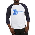 Celtic Blue Bridesmaid Baseball Jersey