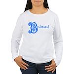 Celtic Blue Bridesmaid Women's Long Sleeve T-Shirt