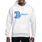 Celtic Blue Bridesmaid Hooded Sweatshirt