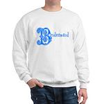 Celtic Blue Bridesmaid Sweatshirt