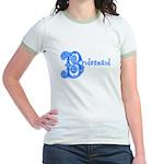 Celtic Blue Bridesmaid Jr. Ringer T-Shirt