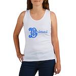 Celtic Blue Bridesmaid Women's Tank Top