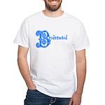 Celtic Blue Bridesmaid White T-Shirt