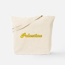 Retro Palestine (Gold) Tote Bag
