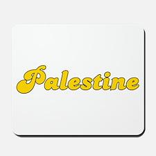 Retro Palestine (Gold) Mousepad