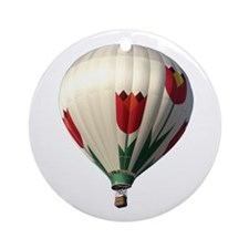 Helaine's Hot Air Balloon 6 Ornament (Round)