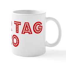 Retro Laser Tag Pro (Red) Mug