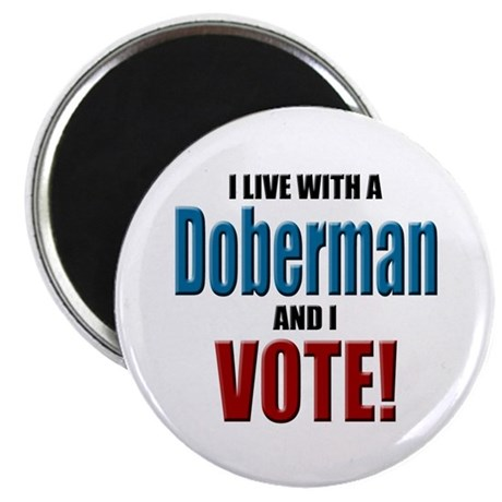Doberman Vote Magnet