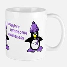 Winter Penguin 2 Hodgkin's Lymphoma Mug