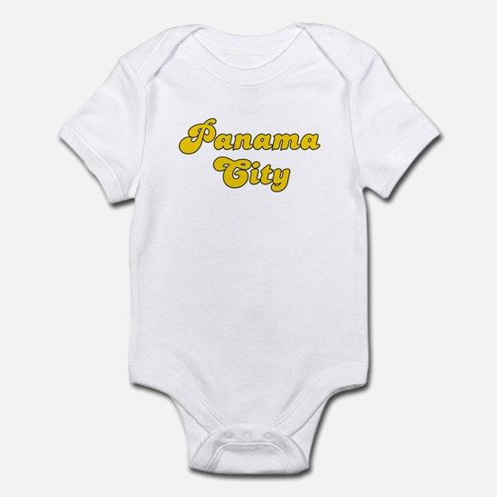 Retro Panama City (Gold) Infant Bodysuit