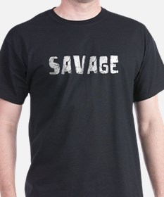 Savage Faded (Silver) T-Shirt