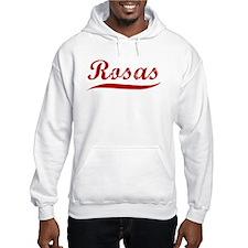Rosas (red vintage) Hoodie