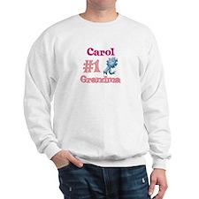 Carol - #1 Grandma Sweatshirt