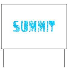 Summit Faded (Blue) Yard Sign
