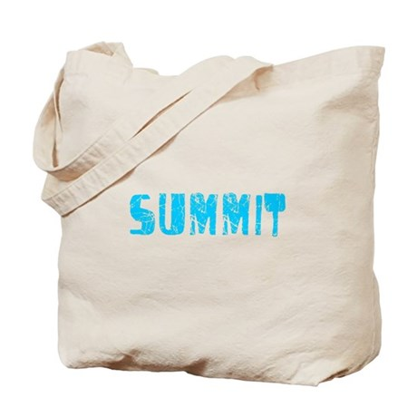 Summit Faded (Blue) Tote Bag