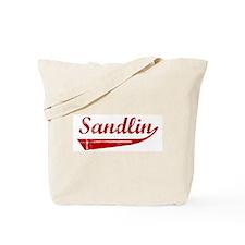 Sandlin (red vintage) Tote Bag