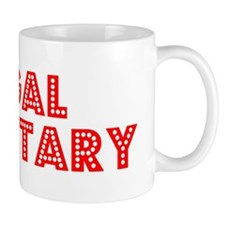 Retro Legal Secre.. (Red) Mug