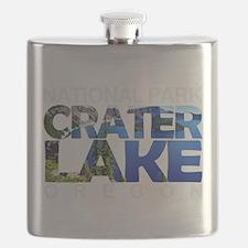 Crater Lake - Oregon Flask