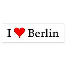 I Love Berlin Bumper Bumper Sticker