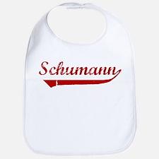 Schumann (red vintage) Bib