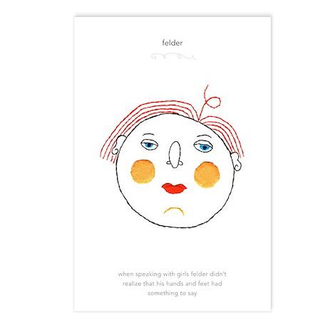 Felder Postcards (Package of 8)
