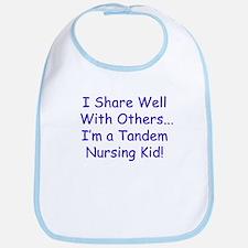 Shares Well Tandem Nursing Kiddo Bib