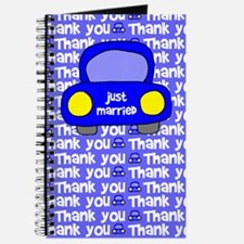 Just Married Thank You Journal