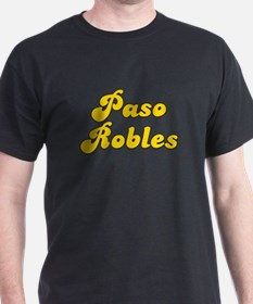 Retro Paso Robles (Gold) T-Shirt