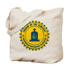 Friends Of The Cemetery Tote Bag