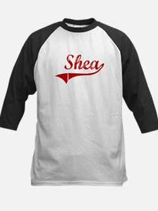 Shea (red vintage) Kids Baseball Jersey