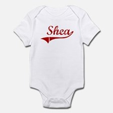 Shea (red vintage) Infant Bodysuit
