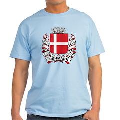 Stylish Denmark Crest T-Shirt