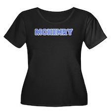 Retro McHenry (Blue) T
