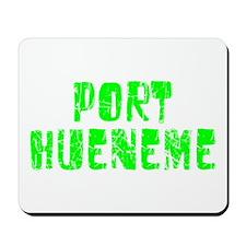 Port Hueneme Faded (Green) Mousepad