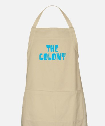 The Colony Faded (Blue) BBQ Apron
