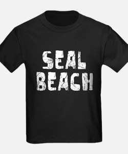 Seal Beach Faded (Silver) T